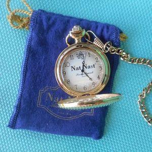 Nat Nast Novelty Pocket Watch, Promotional Item